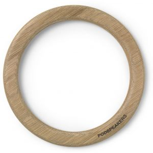 Podspeaker Wooden Hoop Light Oak