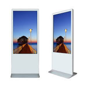 "Amber 43"" Digital Signage Touchscreen Ultra Thin Info Kiosk"