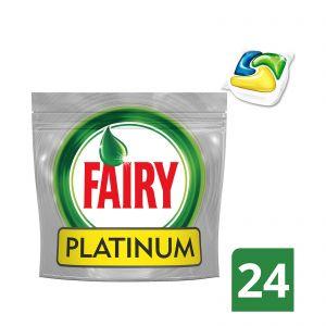 Fairy Playtinum 24 τμχ Απορρυπαντικό Πλυντηρίου Πιάτων σε Κάψουλες 8001090033079