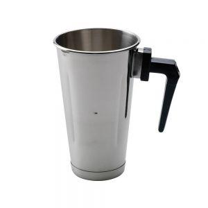 Artemis Ποτήρι κουμπωτό ανοξείδωτο με χερούλι 900ml Φραπιέρας