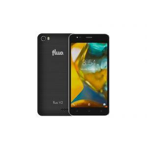 Fluo V2 Black Smartphone