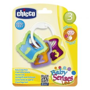 Chicco Χρωματιστά Κλειδιά 3m+ 1τμχ
