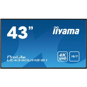 Iiyama Prolite LE4340UHS-B1 Επαγγελματική Οθόνη