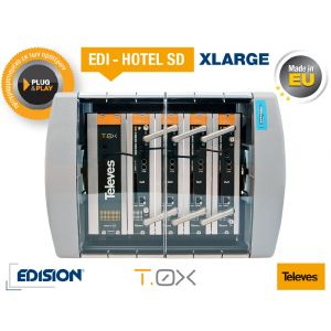 Edision Edi - Hotel SD XLarge Δορυφορικός Δέκτης