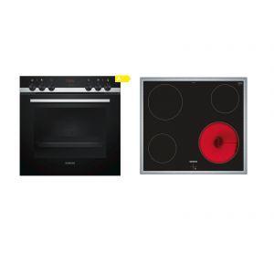 Siemens SA51CN00 (HE514ABR0 + EA645GE17) Σετ Κουζίνα Εστία