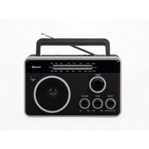 Felix FTR-1617BT BK/SL Φορητό Ραδιόφωνο με Bluetooth