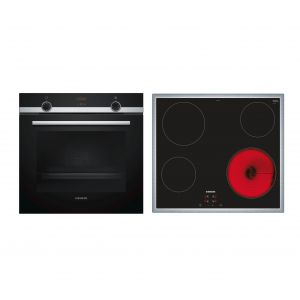 Siemens SA51FN00 (HB513ABR00 + ET645HE17) Σετ Κουζίνα Εστία