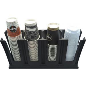 Colorato CLPCS-4A Πλαστική Ποτηροθήκη 4 Θέσεων
