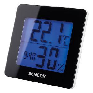 Sencor SWS 1500 B Θερμόμετρο / Ξυπνητήρι