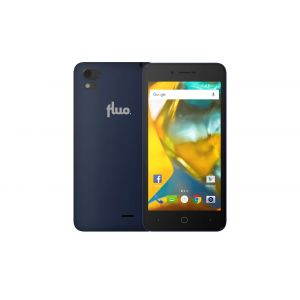 Fluo F 16GB Μπλε Dual Sim Smartphone