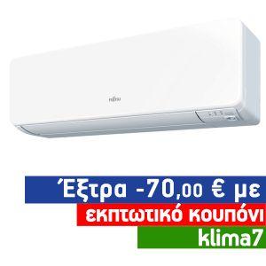 Fujitsu ASYG12KGTA Inverter Κλιματιστικό Τοίχου