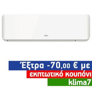 Fujitsu ASYG12KMTA Inverter Κλιματιστικό Τοίχου