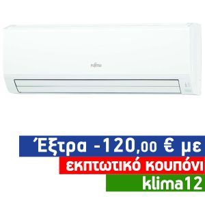 Fujitsu ASYG24KLCA Inverter Κλιματιστικό Τοίχου