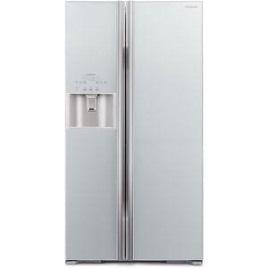 Hitachi R-S700GΡRU2 (GS) Ψυγείο Ντουλάπα Ασημί
