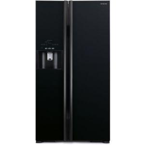 Hitachi R-S700GΡRU2 (GBK) Ψυγείο Ντουλάπα Mαύρο