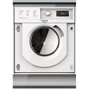 Hotpoint-Ariston BI WDHG 75148  Εντοιχιζόμενο Πλυντήριο Στεγνωτήριο με Ατμό