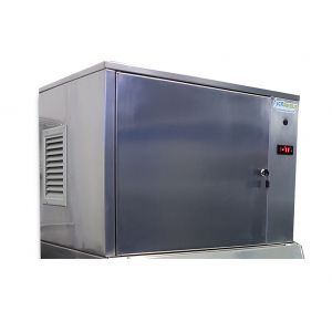 Colorato CLIC-SP180KG Παγομηχανή Ασημί