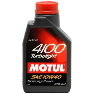 MOTUL 4100 TURBOLIGHT 10W40 1 LT