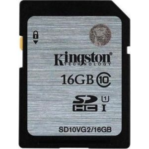Kingston SDHC UHS-I 16GB SD10VG2/16GB