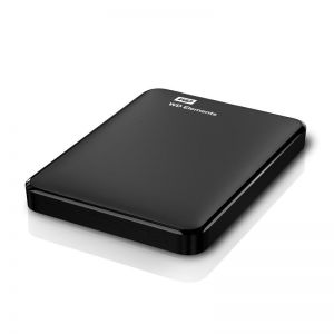 Western Digital 2.5'' Elements 1TB USB 3.0 WDBUZG0010BBK-WESN