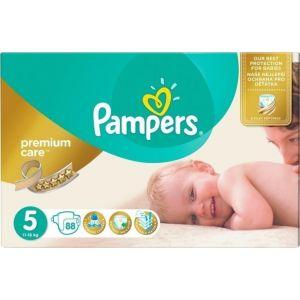 Pampers Πάνες Premium Care (88τεμ) No5 (11-18kg)