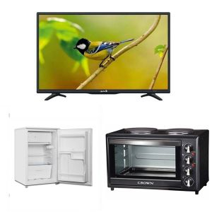 Φοιτητικό Πακέτο Νο2 2017 ( Ψυγείο , Κουζίνα, Τηλεόραση )