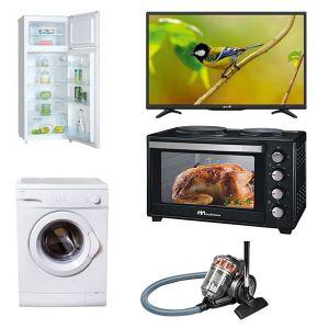 Φοιτητικό Πακέτο Νο4 2018 ( Ψυγείο , Κουζίνα, Τηλεόραση, Πλυντήριο, Σκούπα )