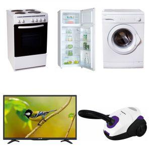 Φοιτητικό Πακέτο Νο5 2017 ( Ψυγείο , Κουζίνα, Τηλεόραση, Πλυντήριο, Σκούπα)