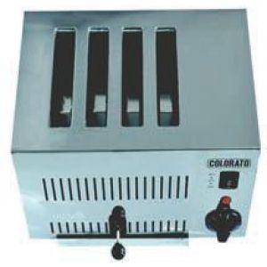 COLORATO CLT-418SS Επαγγελματική Φρυγανιέρα-τοστιέρα