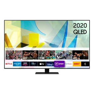 Samsung QE85Q80TATXXH Ultra HD Smart QLED Τηλεόραση