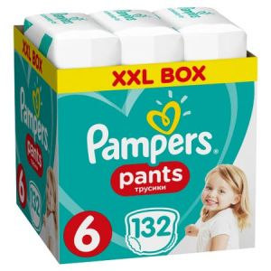 Pampers Πάνες Pants (132τεμ) No6 (16+kg) 8001090808080