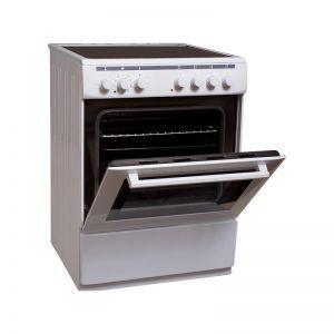 Finlux FLCM 6000A W Ηλεκτρική Κεραμική Κουζίνα