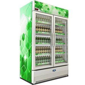 Sanden SPE-1005 Ψυγείο Βιτρίνα Λευκό