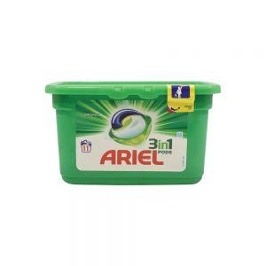Ariel 3in1 Pods Alpine Κάψουλες Πλυντηρίου Ρούχων 11τμχ 28132