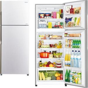 Hitachi R-V470PRU3 (PWH) Δίπορτο Ψυγείο