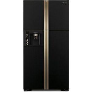 Hitachi R-W660PRU3 (GBK) Ψυγείο Ντουλάπα Μαύρο