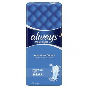 Always Σερβιέτες Night 29304 9τεμ