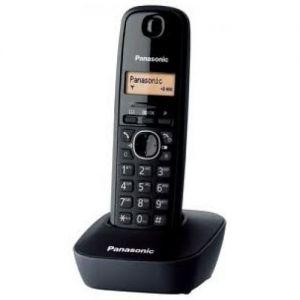 Panasonic KX-TG1611GRH Μαύρο Ασύρματο Τηλέφωνο