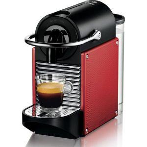 Delonghi Nespresso Pixie EN125.R Κόκκινη Καφετιέρα Espresso