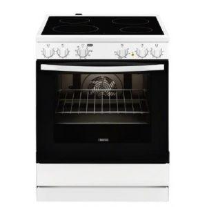 Zanussi ZCV 65050 WA Ηλεκτρική Κεραμική Κουζίνα
