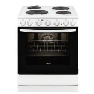 Zanussi ZCE 65210 WA Ηλεκτρική Εμαγιέ Κουζίνα