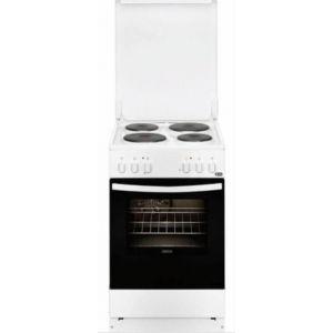 Zanussi ZCE 550 G1WA Ηλεκτρική Εμαγιέ Κουζίνα