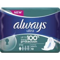 Always Σερβιέτες Ultra Plus Normal 10 Τεμ 4015400563778
