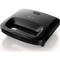 Philips HD2395/90 Μαύρη Τοστιέρα