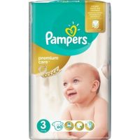 Pampers Πάνες Premium Care (60τεμ) No3 (5-9kg)