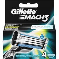 Gillette Mach3 Aνταλλακτικά 4τεμ