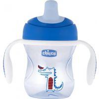 Chicco Natural Fit Semi-soft Spout Trainer Blue 6m+