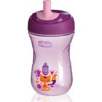 Chicco Advanced Cup Easy Drinking 12m+ 2 in 1 Purple 266ml