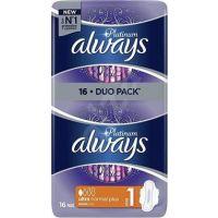 Always Σερβιέτες Platinum Ultra Normal Plus 16 Τεμ 8001090444912