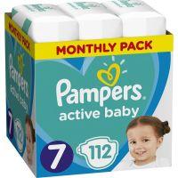 Pampers Πάνες Active Baby (112τεμ) No7 (15+ kg)
